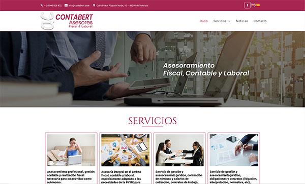 Contabert - Diseño Web Valencia