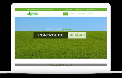 Alpama Control de Plagas - Diseño Web WordPress+WooCommerce Valencia