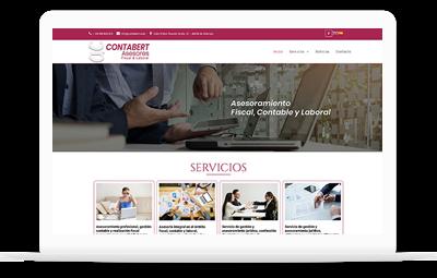 Contabert Asesores - Diseño Web WordPress+WooCommerce Valencia