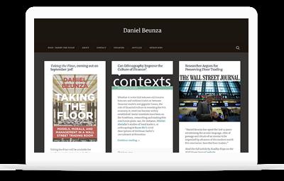 Daniel Beunza - Diseño Web WordPress+WooCommerce Valencia