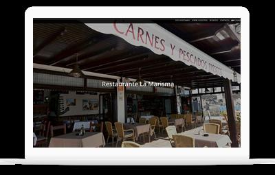 Restaurante La Marisma - Diseño Web WordPress+WooCommerce Valencia
