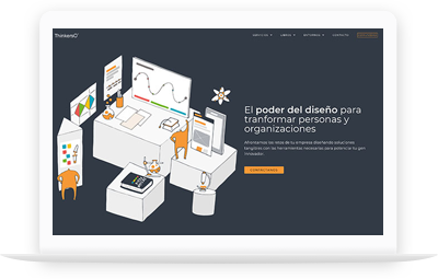 ThinkersCo - Diseño Web WordPress+WooCommerce Valencia