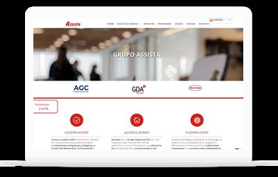 Mantenimiento Web de las webs del grupo- Diseño Web WordPress Valencia